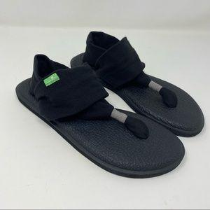 SANUK Yoga Sling Black Sandal 6